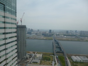 view from 36th floor Sumo building